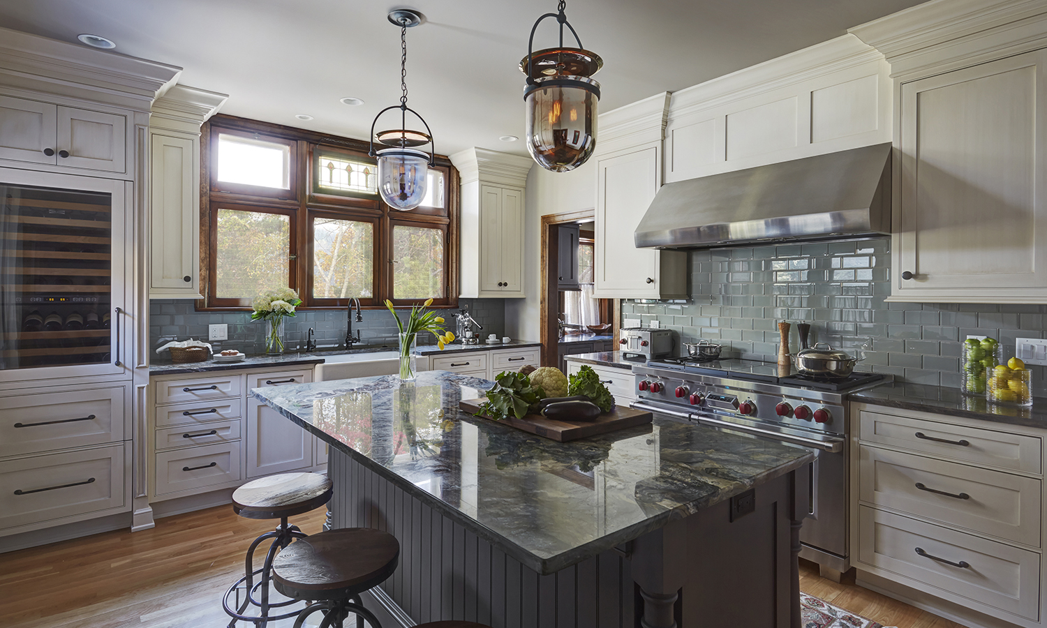 Photo of Refined Farmhouse Kitchen